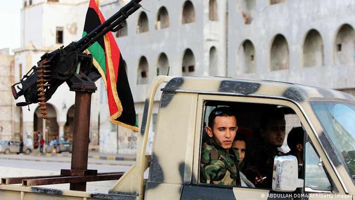 Libyen Bewaffnete Milizen
