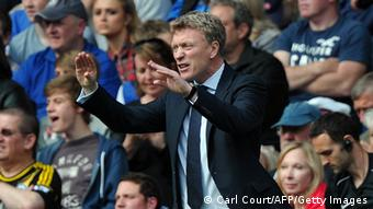 David Moyes im Stadion (Foto: CARL COURT/AFP/Getty Images)