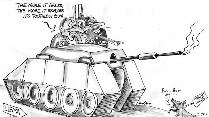 Karikatur von Ssentongo Jimmy Spire aus Uganda (Foto: DWJN)