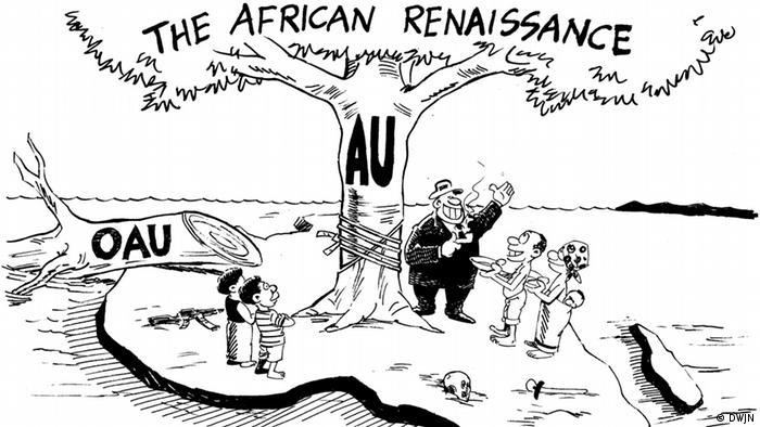 Karikatur von Haswel Kunyenje, Malawi (Foto: DWJN)
