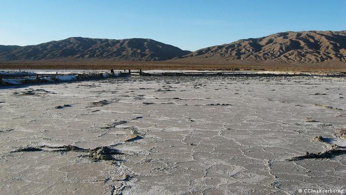 Ausgetrockneter See Kalifornien