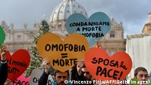 Vatikan Proteste Homosexuelle Archiv 16.12.2012