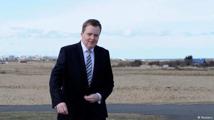 Сигмюндюр Давид Гюннлёйгссон, Исландия