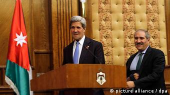 John Kerry in Amman
