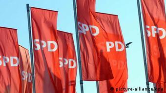 Флаги с символикой СДПГ