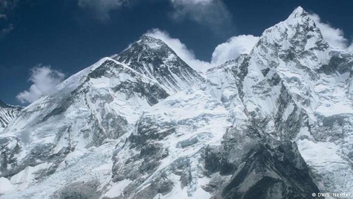La parte sur del Everest en Nepal.