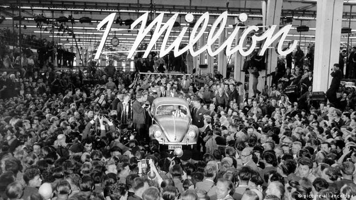 75 Jahre Volkswagen (picture-alliance/dpa)