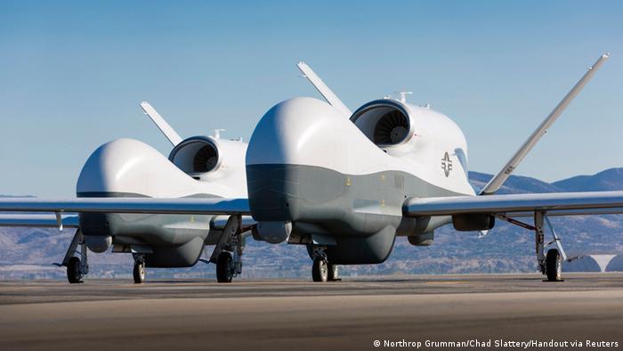 USA Drohnen Northrop Grumman MQ-4C Triton (Northrop Grumman/Chad Slattery/Handout via Reuters)