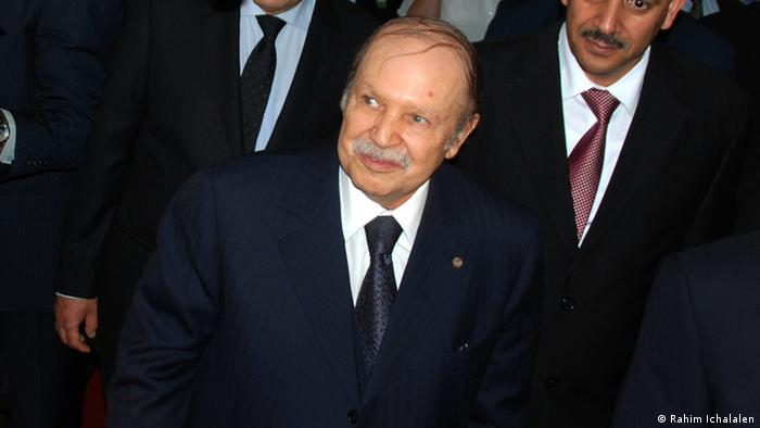 Abdelaziz Bouteflika Präsident Algerien