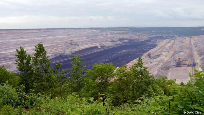 Coal mining at Hambacher (Photo: DW/ Karin Jäger)