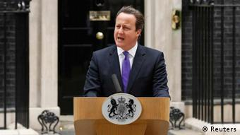 Großbritannien Mord Soldat in London David Cameron