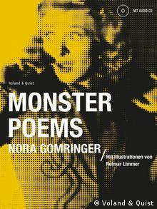 Buchcover Monster Poems Nora Gomringer (Foto: Voland & Quist)