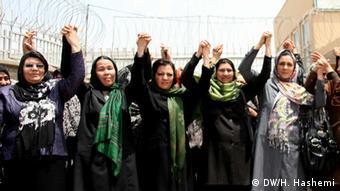 Afghanistan Demo Gewalt Frauen