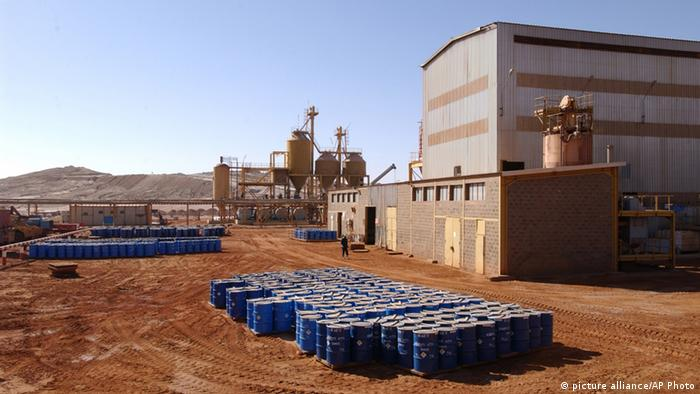 Arlit uranium mine Niger. Photo: AP.