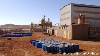 Die Uranmine in Arlit im Norden Nigers (Foto: AP)