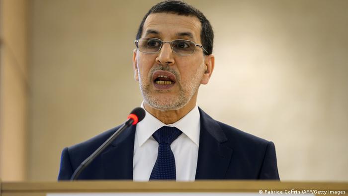 Saad-Eddine El Othmani Außenminister Marokko (Fabrice Coffrini/AFP/Getty Images)