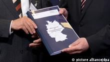 Bund-Länder-Kommission zum Rechtsterrorismus Bericht Übergabe NSU
