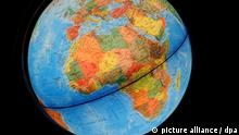 Weltkugel Globus Afrika