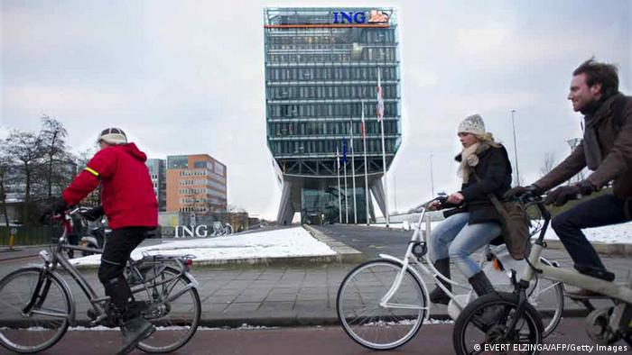 Spektakuläre Firmensitze ING Group Amsterdam (Foto: AFP)