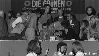 Parteitag Die Grünen 1986 Stadtindianer