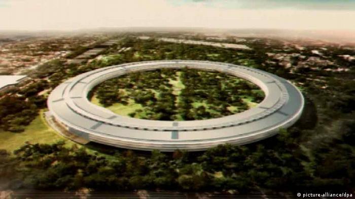 Spektakuläre Firmensitze Apple Ufo (Foto: dpa)