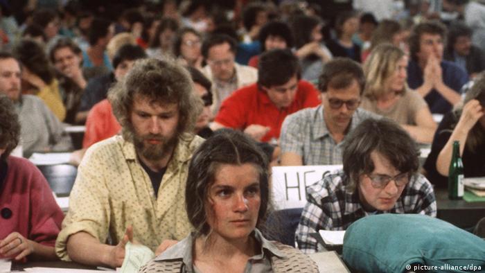 Parteitag der Grünen 1987 in Duisburg