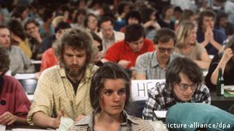 Από συνέδριο των Πρασίνων το 1987 στο Ντούισμπουργκ