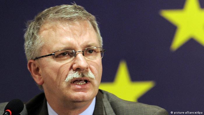 Евродепутат из Европейской народной партии (ЕНП), бывший постоянный докладчик Европарламента по Украине Михаэль Галер