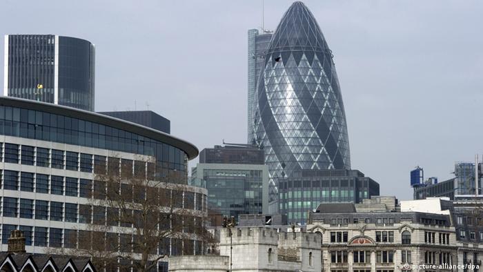 Spektakuläre Firmensitze London Gherkin Gurke (Foto: dpa)