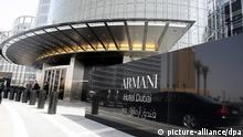 Spektakuläre Firmensitze Dubai Hotel Armani