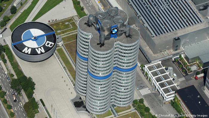 Spektakuläre Firmensitze München BMW Komplex