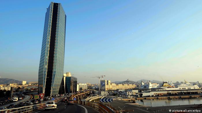 Spektakuläre Firmensitze Marseille CMA CGM (Foto: dpa)