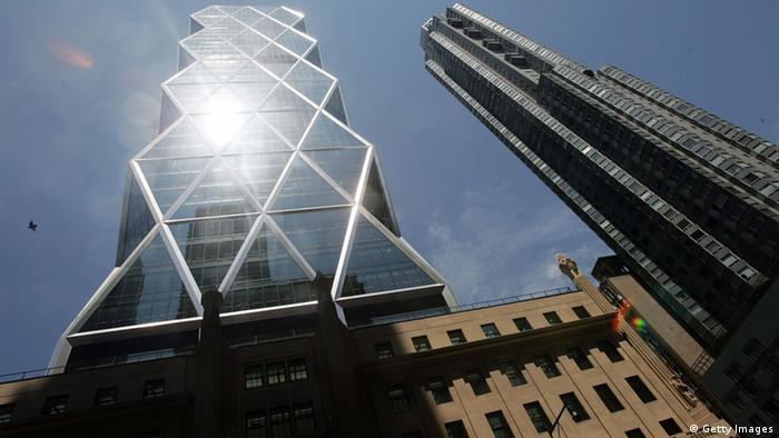 Spektakuläre Firmensitze New York Hearst Tower (Photo by Mario Tama/Getty Images)