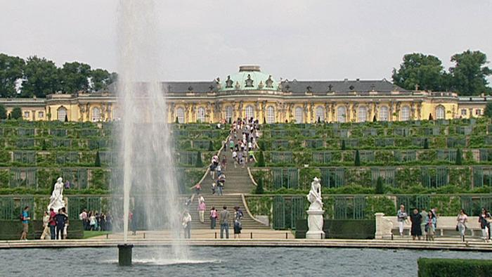 UNESCO listed park in Potsdam