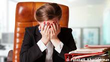 #52250270 - Portrait of mature disappointed businesswoman © Elena Kharichkina