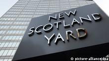 Zentrale des New Scotland Yard in London