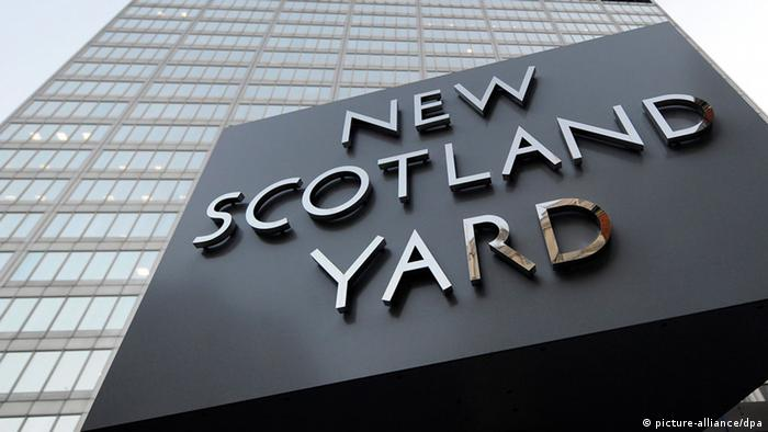Zentrale des New Scotland Yard in London (picture-alliance/dpa)