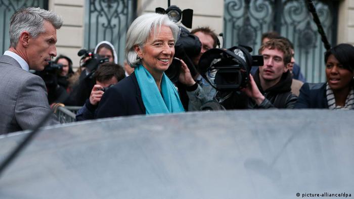 IWF-Chefin Lagarde sagt erneut vor Ermittlern aus