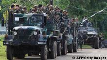 Philippinen Tote nach Gefecht