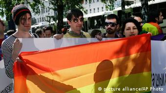 Під час травневої демонстрації проти дискримінації сексуальних меншин у Києві
