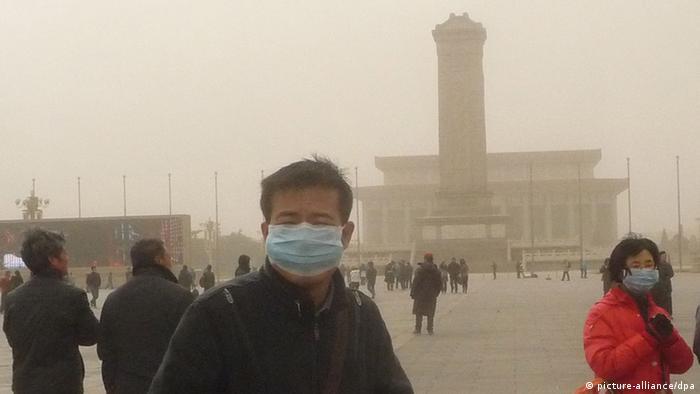Smog in Peking (Foto: picture-alliance/dpa)