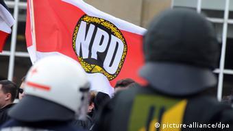 Демонстрація прихильників НДПН у Карлсруе