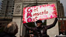 Monsanto Demonstration ANTI Gen-Soya USA