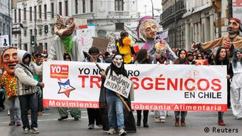 Monsanto Demonstration ANTI Gen-Soya Chile