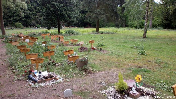 Köln Westfriedhof Muslimisches Gräberfeld