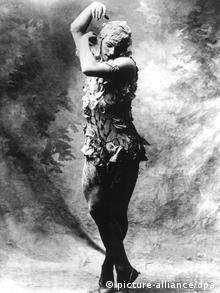 Dancer and choreographer Vaslav Nijinsk +++(c) dpa - Bildfunk+++