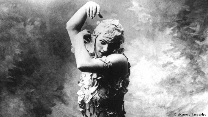 Sacre du printemps by Igor Stravinski with dancer Vaslaw Nijinsky, Paris 1913