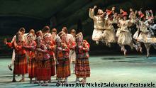 Sacre du printemps Tanzvorstellung Mariinski-Theater Salzburger Festspiele 2013