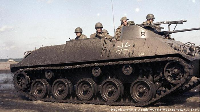Schützenpanzer HS-30 1965 der Bundeswehr (Bild: Bundesarchiv)