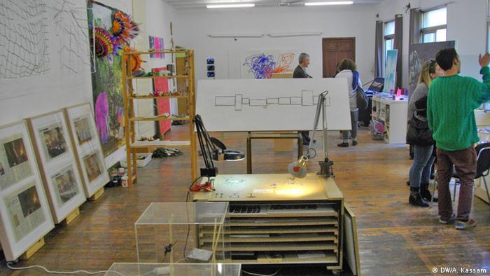 Studio Beneficencia in Madrid. Copyright: DW/Ashifa Kassam. Bild (samt Copyright Freigabe) geliefert von Ashifa Kassam für DW/Kate Müser.